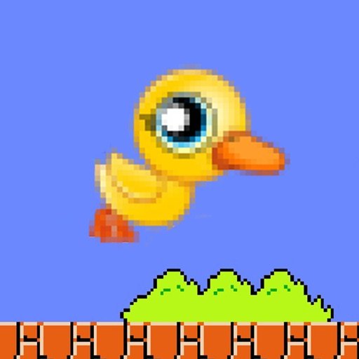 Clumsy Bird: Adventure of the Flappy Duck HD icon