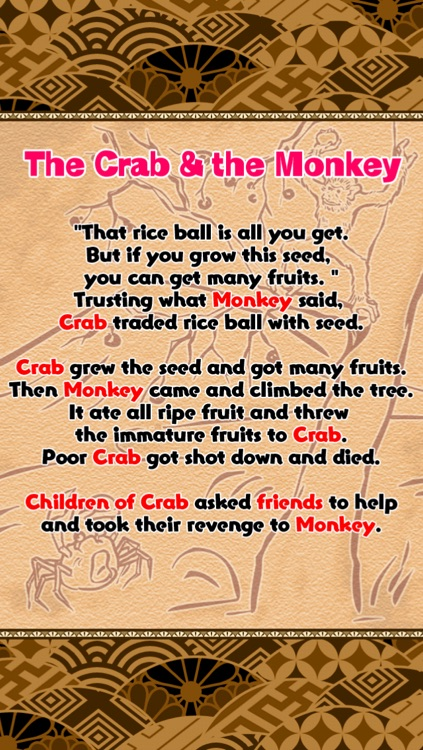 The Crab & the Monkey