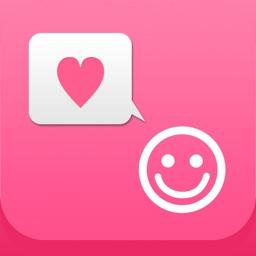 かわいい顔文字 かおもじシンプル ユーザー辞書に直接登録できる めずらしい顔文字もあります By Kasuga Junichi