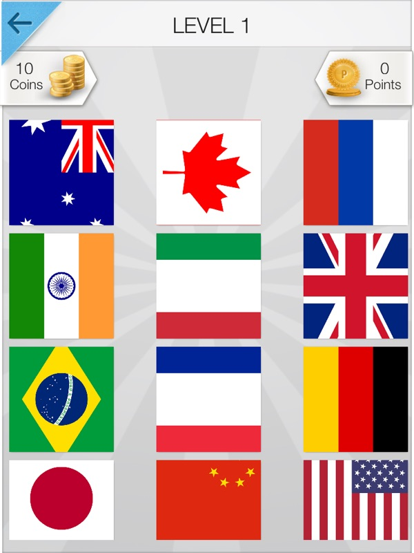 Word Pic Quiz World Flags - the ultimate flag naming trivia