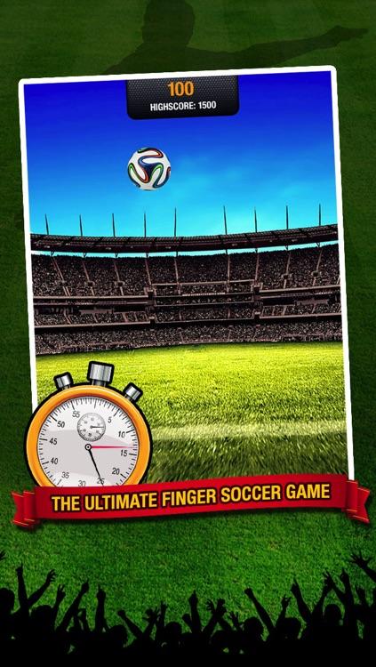 Kick Star Soccer - Keepy uppy challenge for finger football fans