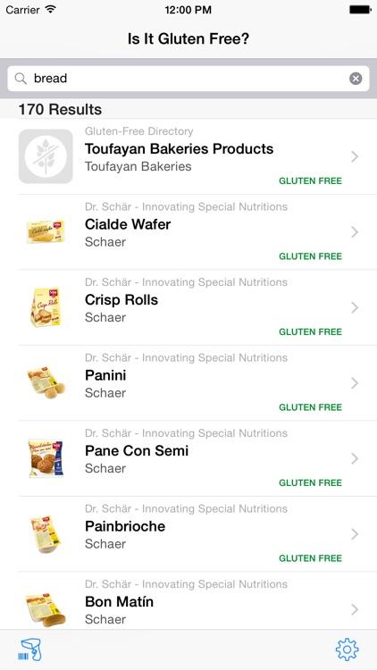 Is It Gluten Free?