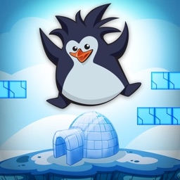 A Penguin Ice-Cube Run FREE - The Puzzle Club Runner Game
