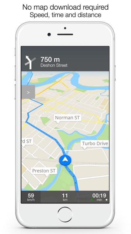 Louisiana Offline Maps & Offline Navigation screenshot-3