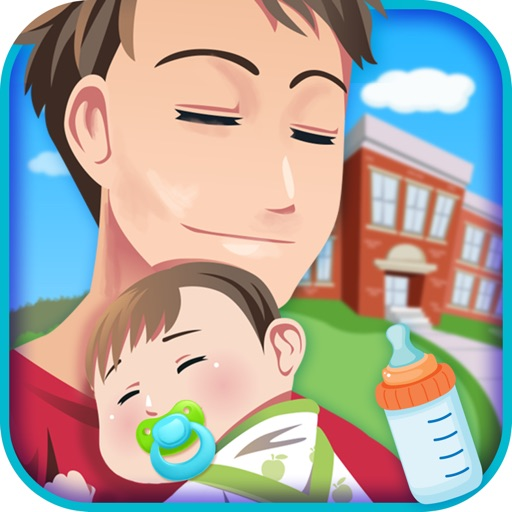 Daddy's Newborn Baby Birth