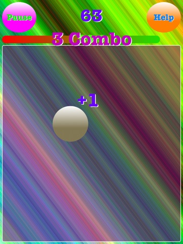 Screenshot #6 pour Ball Tapper-How many times can you tap it?