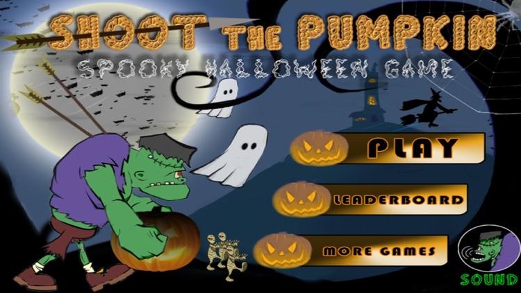 A Shoot The Pumpkin Game - Scary Fun & Spooky Halloween Games