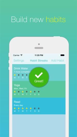Habit streaks create good habits break bad ones on the app store iphone screenshots urtaz Gallery
