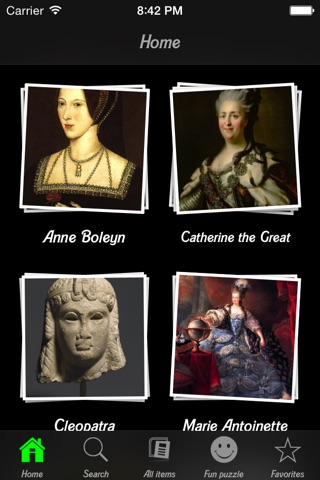 famous kings and queens - 320×480