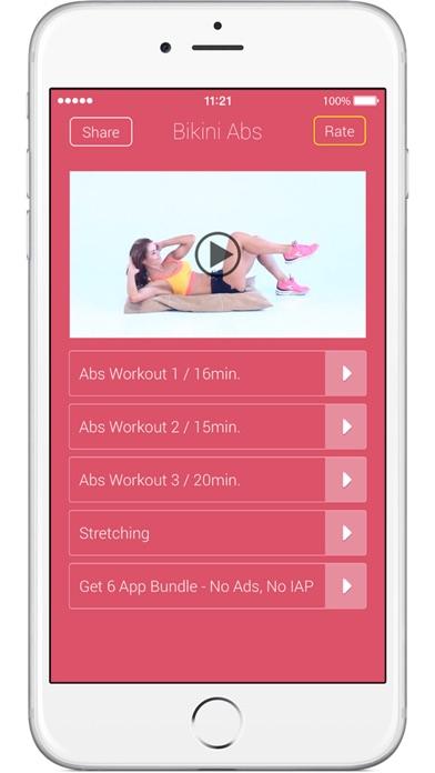 Bikini Abs – Frauen Bauchübungen für eine straffe MitteScreenshot von 1