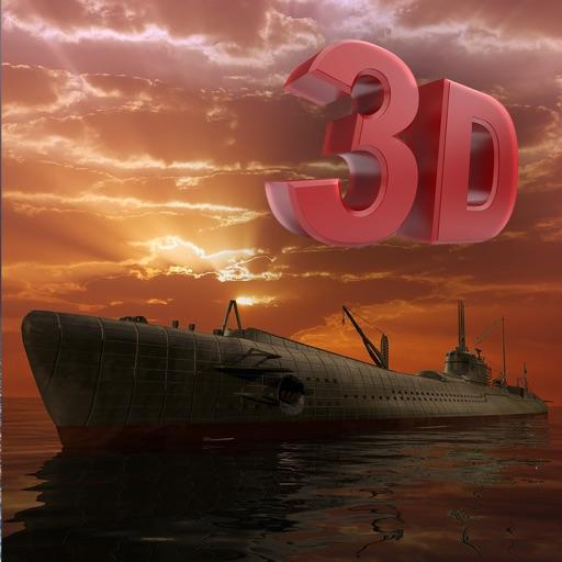 Uboat War Dirigible Airship 3D - B-52 Bomber Beyond Deep Sea