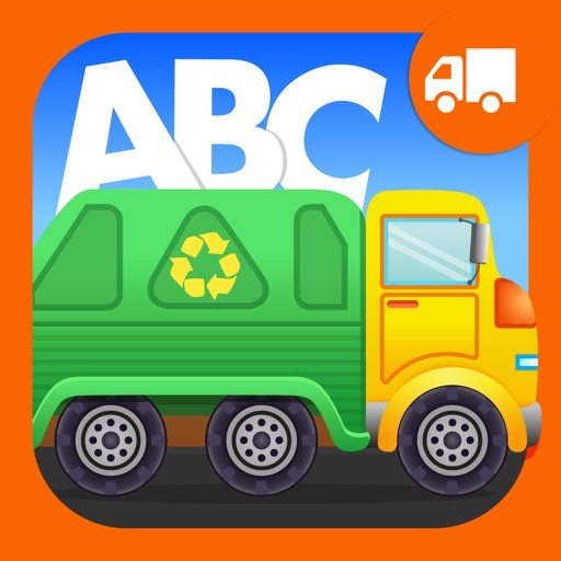 ABC Garbage Truck - an alphabet fun game for preschool kids learning ABCs and love Trucks and Things That Go