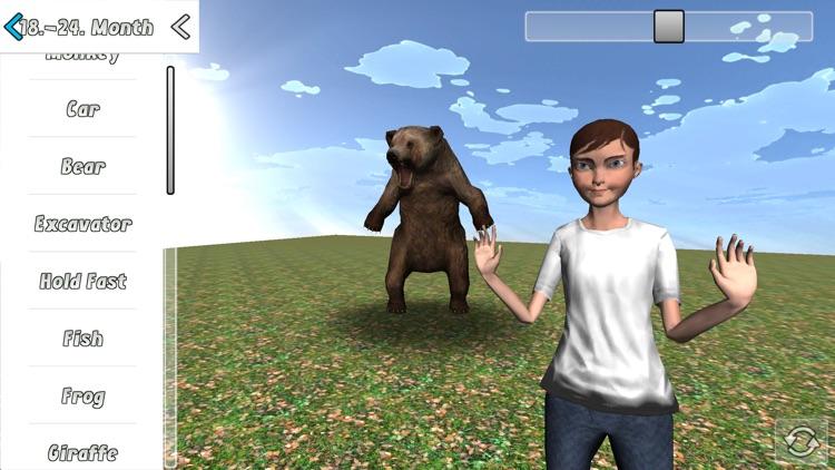 Baby Sign 3D screenshot-3