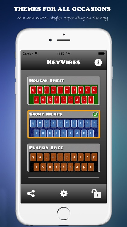KeyVibes - Color Keyboards and Custom Themes