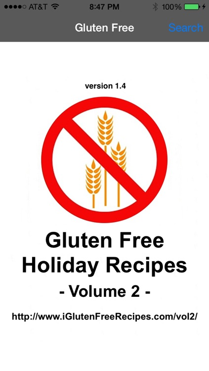 Gluten Free Recipes Healthy Holiday Eating