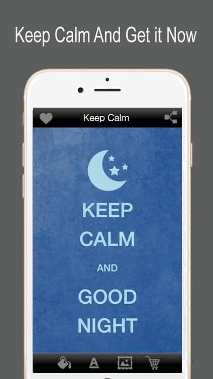 Keep Calm - Funny Poster Maker screenshot-3