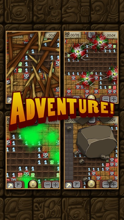 Temple Minesweeper - El Dorado Adventure with Mine Sweeper Gameplay screenshot-2