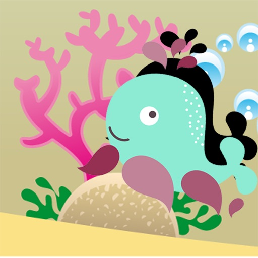 Animals of the Sea Shadow Game: Play and Learn shapes for Children iOS App