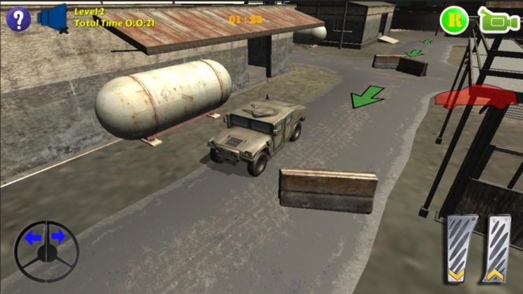 Humvee Car Parking screenshot-4