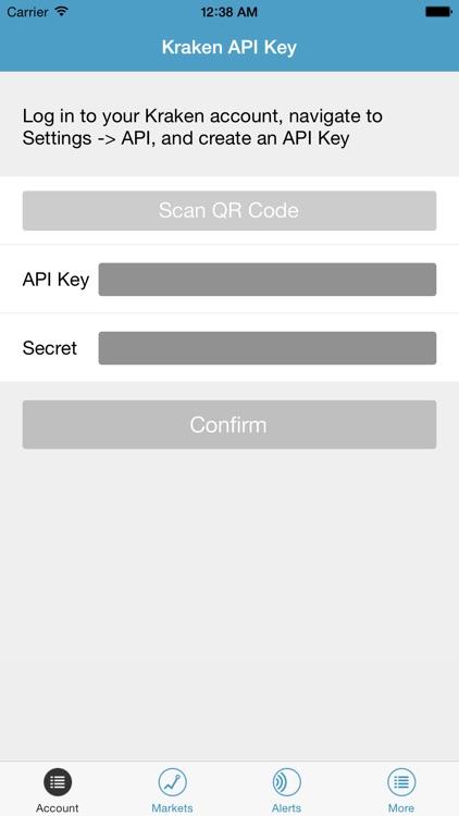 Kraken Bitcoin Exchange screenshot-3
