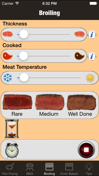 perfect steak timer: bbq, grill, fry and broiling screenshot-3