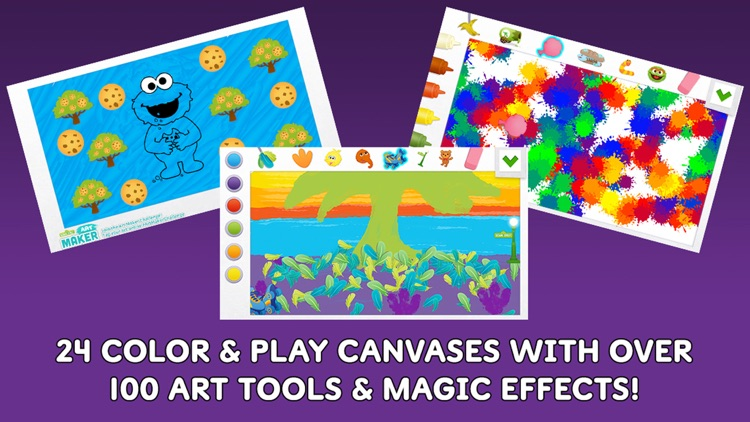 Sesame Street Art Maker screenshot-1