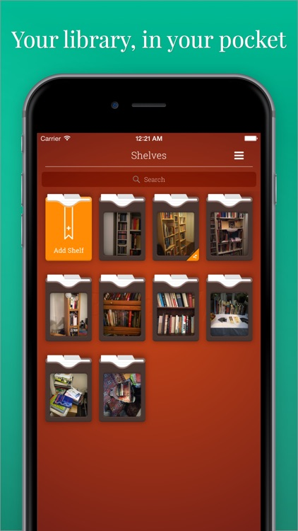 Evershelf - Organize Books, CDs, vinyl records, and movies - search your shelves - share your collections! screenshot-0