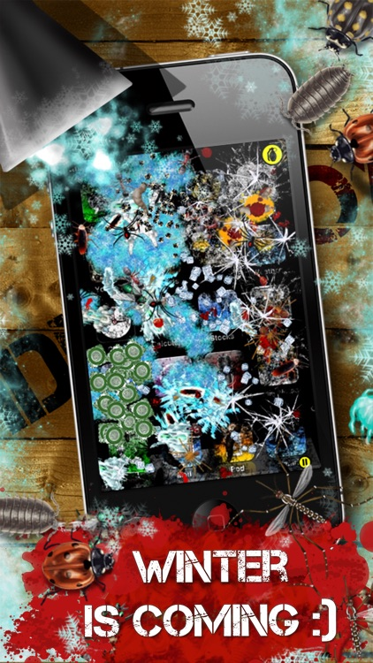 iDestroy Free: Game of bug Fire, Destroy pest before it age! Bring on insect war! screenshot-4