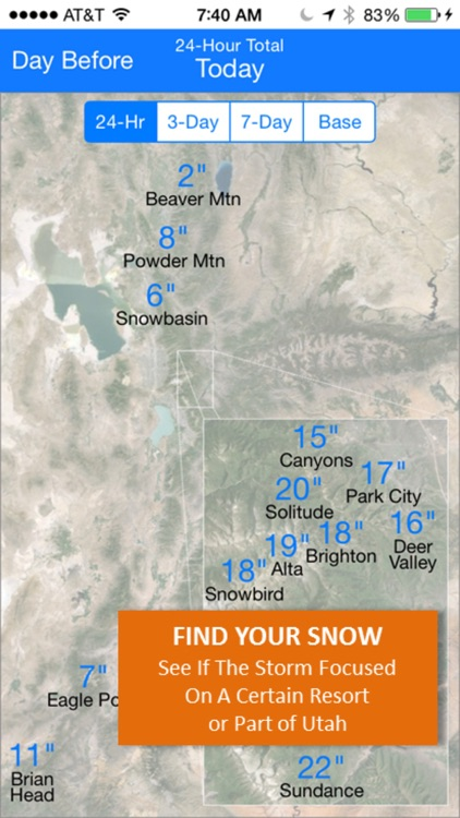 Utah Snow Map & Webcams screenshot-4