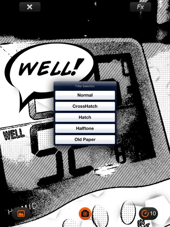 Comic's Camera for iPad screenshot-3