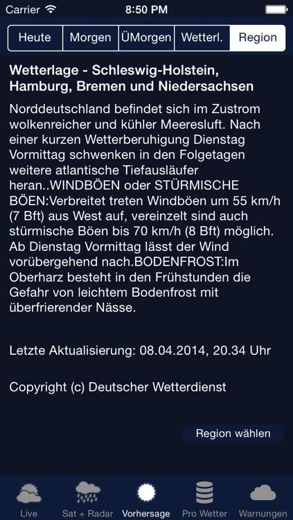 Das Wetter in Deutschland screenshot-3