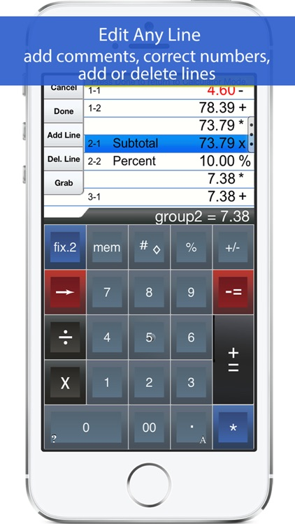 Adding Machine 10Key Lite screenshot-1