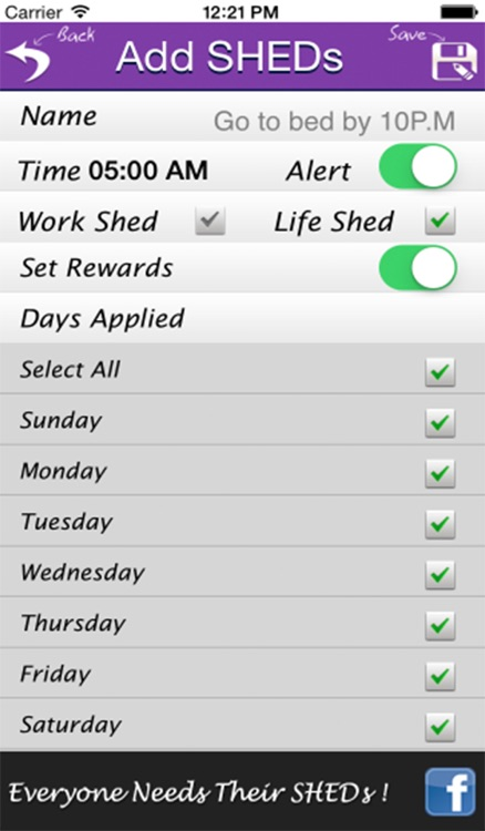 SHEDs+ – Set Good Habits Daily For Health, Motivation, Success, Happiness & A Better Life screenshot-3