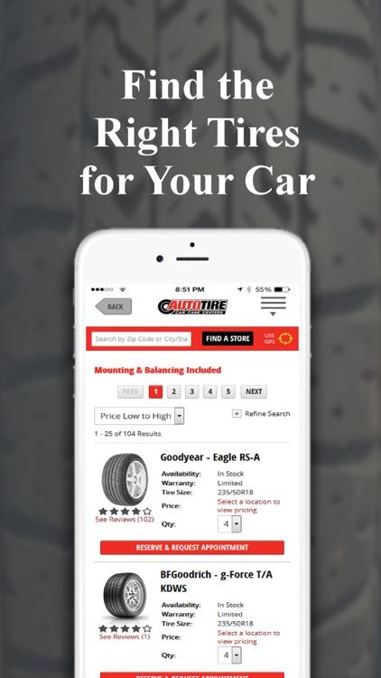 AutoTire | Car Care Centers screenshot-3