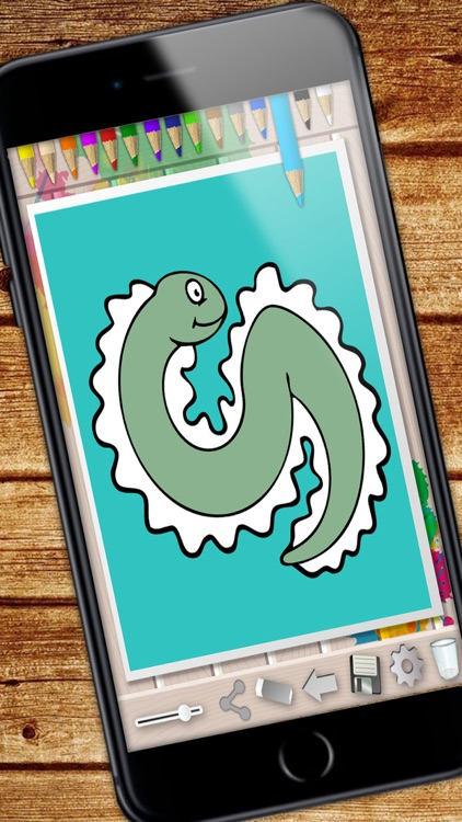Sea Animals Coloring Book - color and paint fish screenshot-4