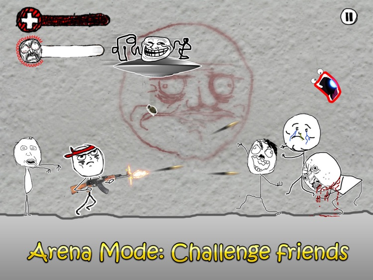 Rage Wars HD - Meme Shooter screenshot-4