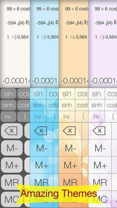Advanced Calculator - Pretty, Simple & Functional screenshot two