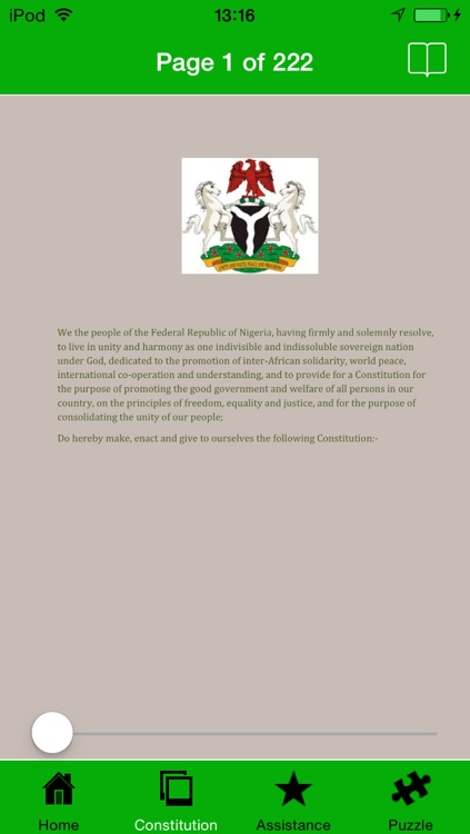 Nigerian Constitution screenshot-1
