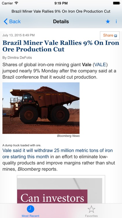 Industrial Metals & Minerals News