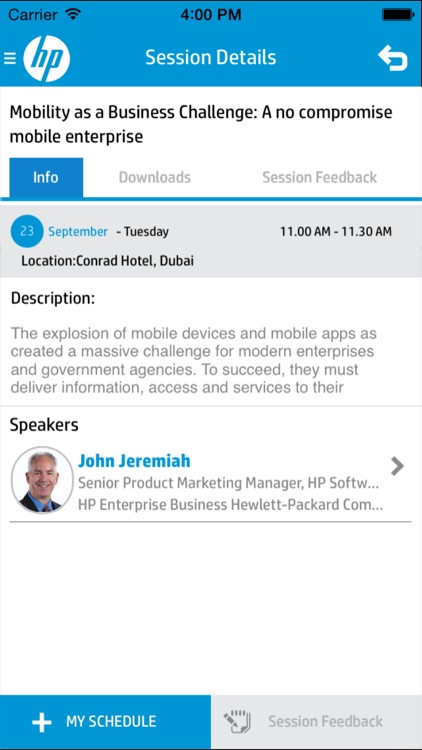 HP Software & Solutions - Middle East screenshot-3