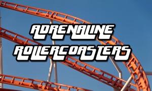 Adrenaline Rollercoaster Rides in 3D