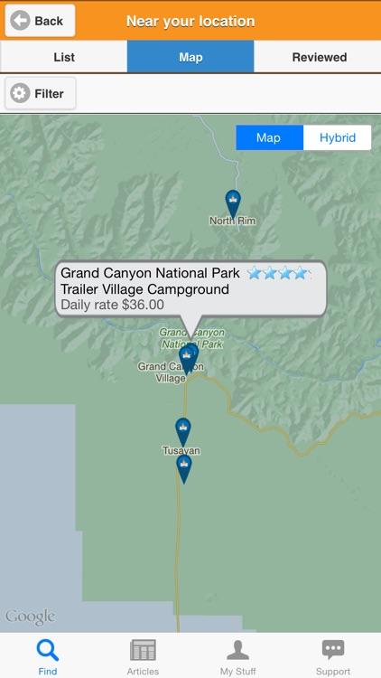 Camp Finder