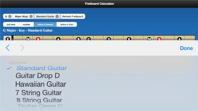 Fretboard Calculator screenshot three