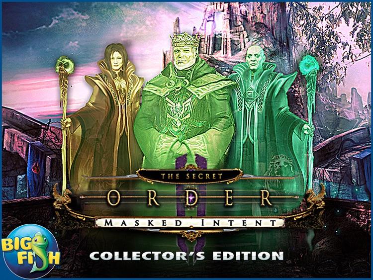 The Secret Order: Masked Intent HD - A Hidden Objects Adventure screenshot-4