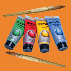 Acrylic Painting Guide