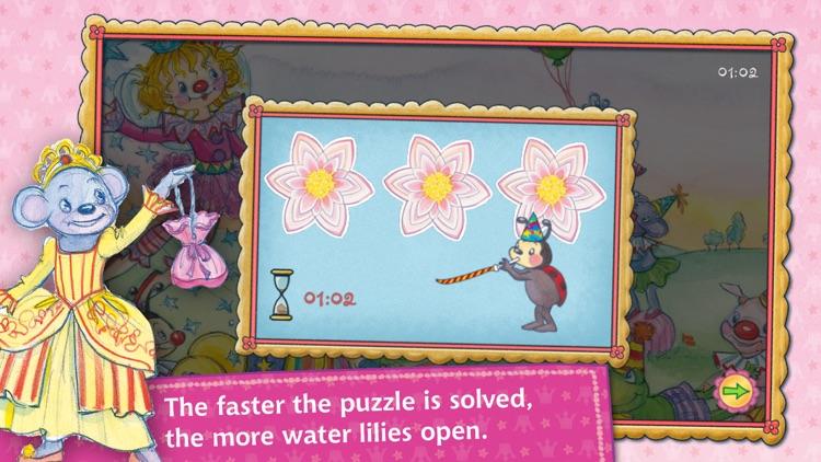 Puzzle fun with Princess Lillifee screenshot-3