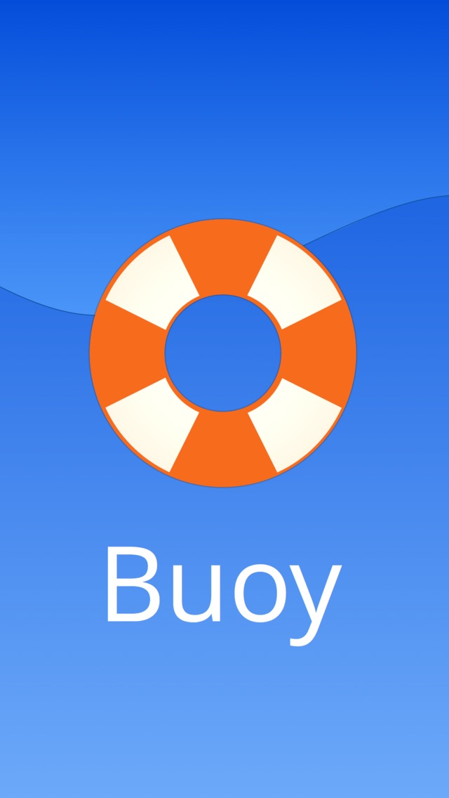 Buoy - Where you are, only better screenshot one