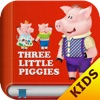 The Three Little Pigs Free - Interactive bedtime story book - iPadアプリ