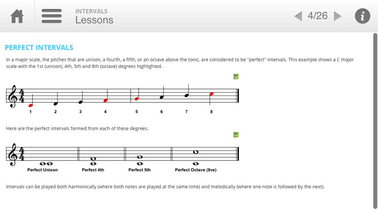 Musition Intervals screenshot-1