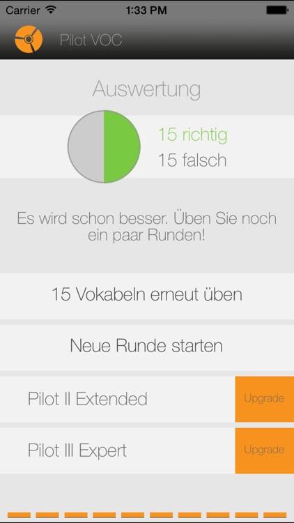 Pilot Vocabulary Trainer D-E screenshot-4